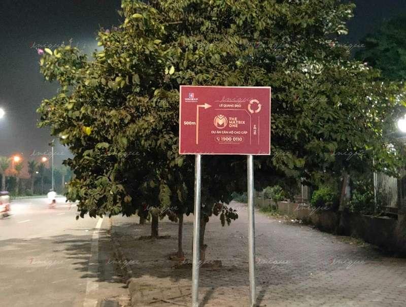 Gia công biển báo Inox nhanh chóng - chất lượng - giá tốt tại Hà Nội