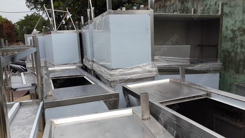 Đa Hình gia công, sản xuất bộ hút mùi - bàn bếp bằng inox chất lượng cao