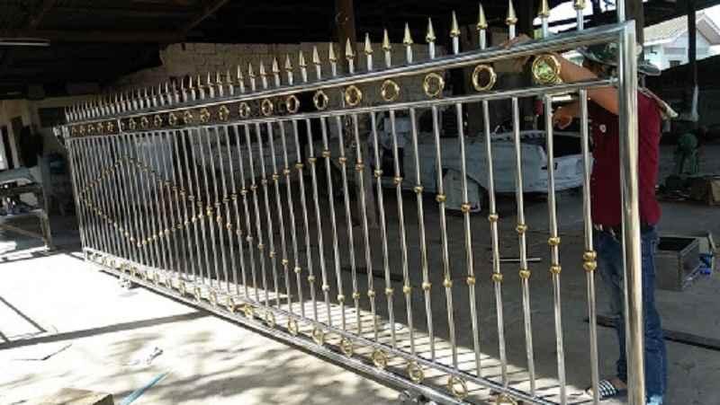 Sản xuất hàng rào inox 304 theo yêu cầu tại Hà Nội đảm bảo chất lượng