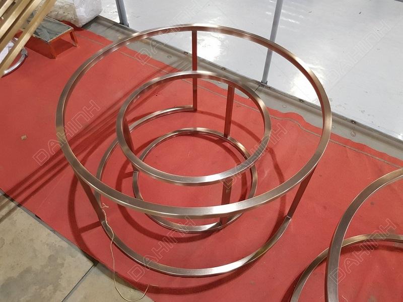 Đa Hình gia công tab inox 304 cắt laser mạ PVD chất lượng cao
