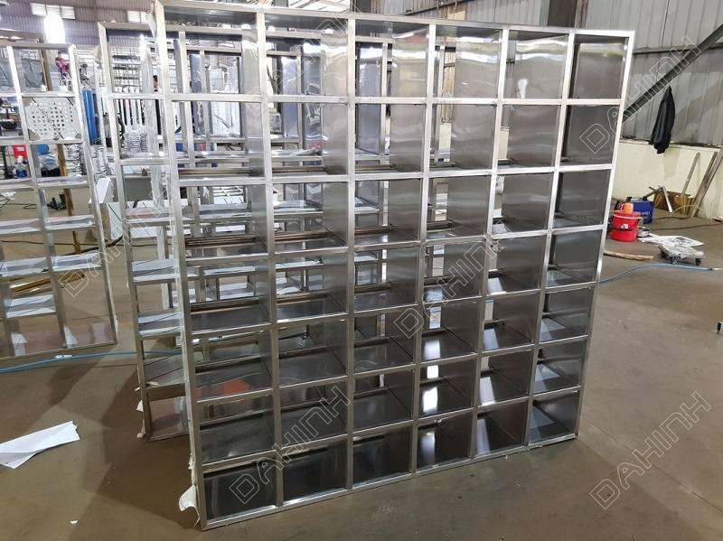 Xưởng cơ khí gia công tủ giày inox uy tín chất lượng cao tại Hà Nội