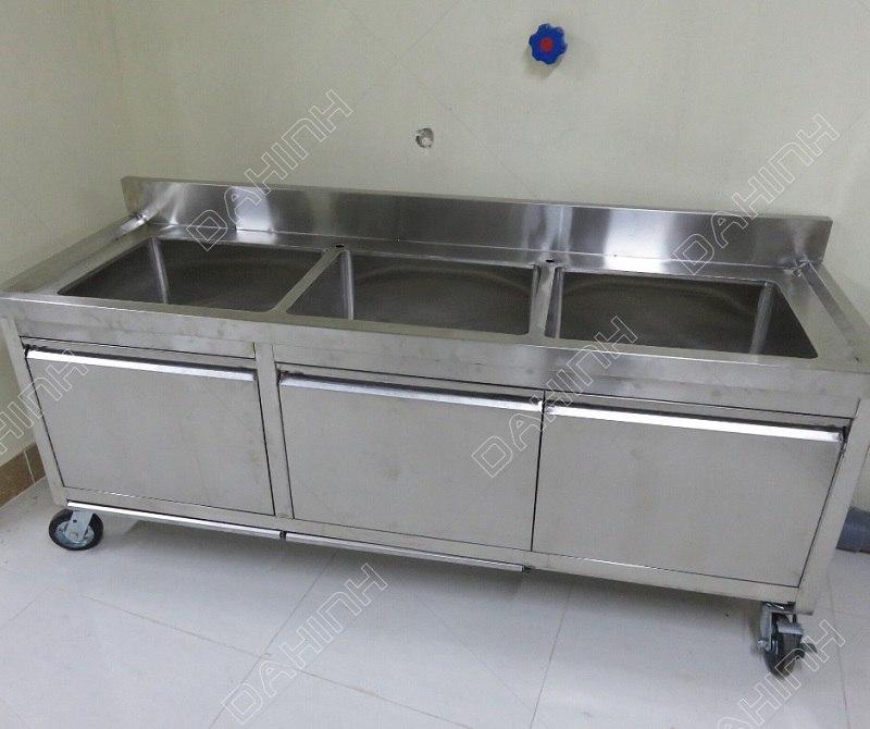 Gia công tủ hâm nóng đồ ăn theo yêu cầu cho bếp ăn công nghiệp