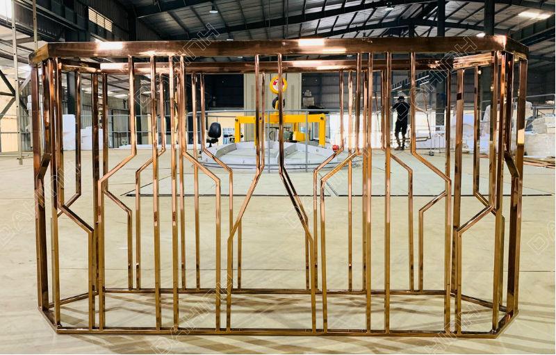 Mạ PVD Đa Hình Mạ vàng Inox tại Hà Nội