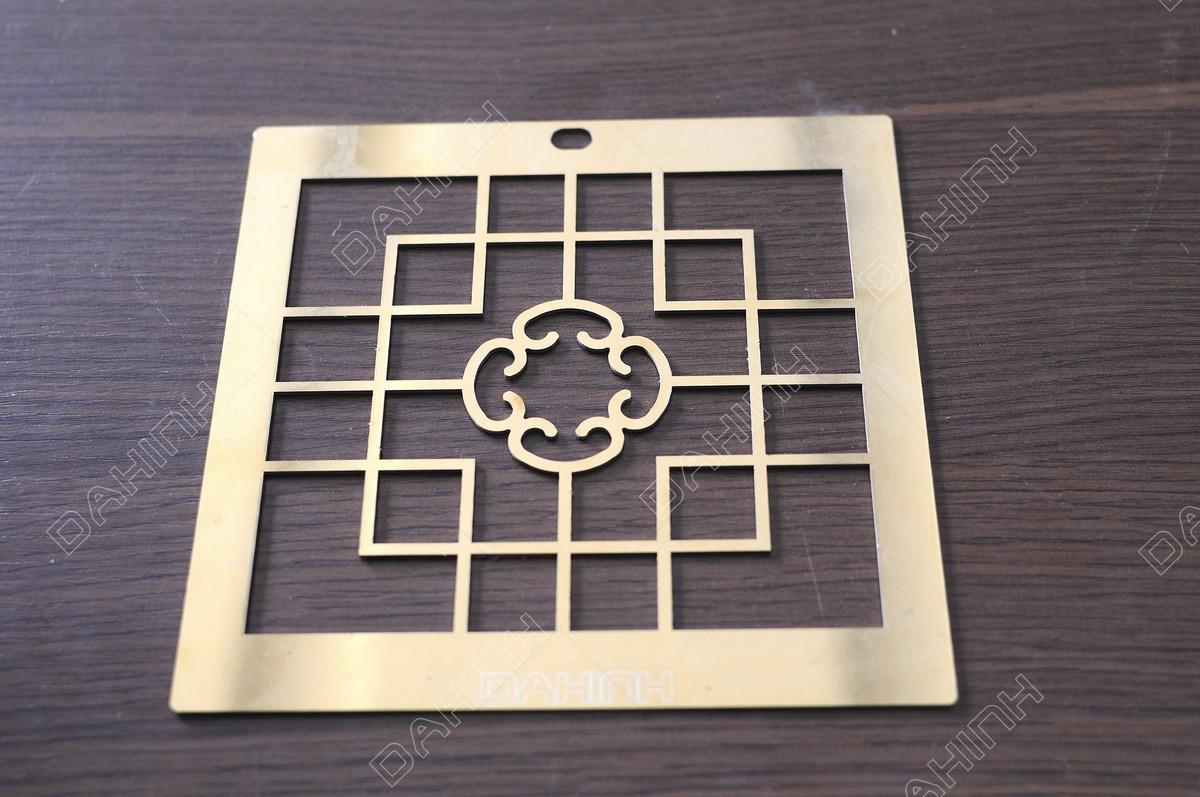 Cắt laser CNC hoa văn inox theo yêu cầu tại Đa Hình