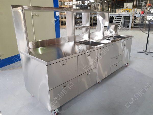 gia công tủ bếp thiết bị bếp công nghiệp tại hà nội