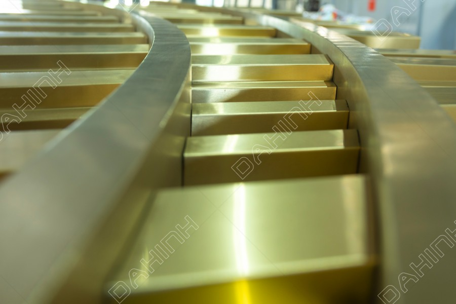 gia công cắt laser vách ngăn cnc inox mạ vàng đẹp