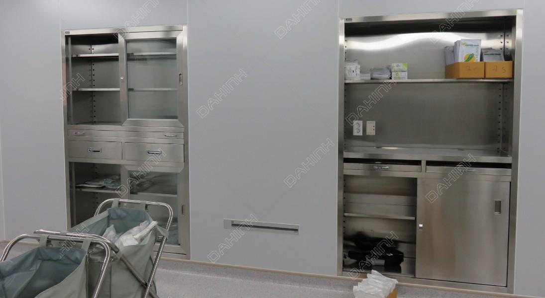 Gia công Cắt laser thiết bị inox cho bệnh viện phòng khám