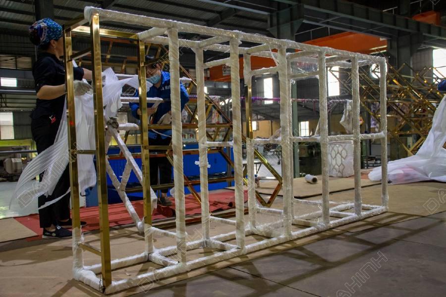Gia công Mạ PVD Inox theo yêu cầu: Inox mạ vàng, Inox mạ vàng hồng