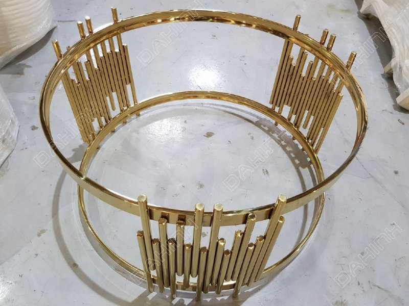 Dịch vụ inox mạ vàng tại Hà Nội