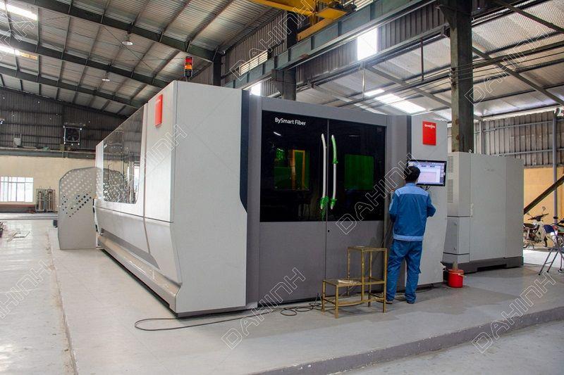 Hệ thống máy móc gia công cơ khí hiện đại tại Đa Hình
