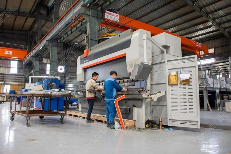 Gia công chấn gấp tôn uy tín tại Hà Nội bằng công nghệ CNC