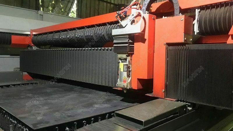 Gia công cắt laser thép đen uy tín tại Xưởng cơ khí Đa Hình
