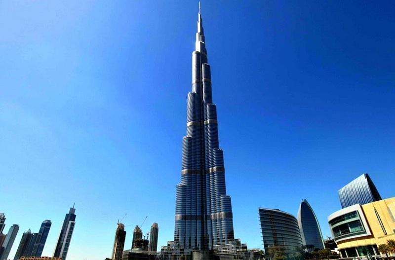 Burj Khalifa là tòa tháp cao nhất thế giới hiện nay
