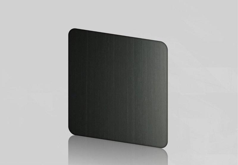 Inox tấm đen sang trọng, hiện đại