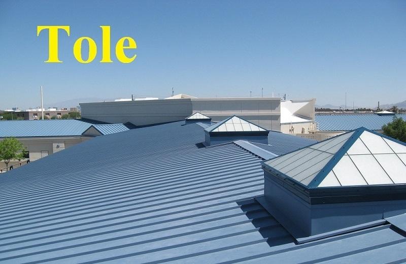 Mái nhà bằng tole